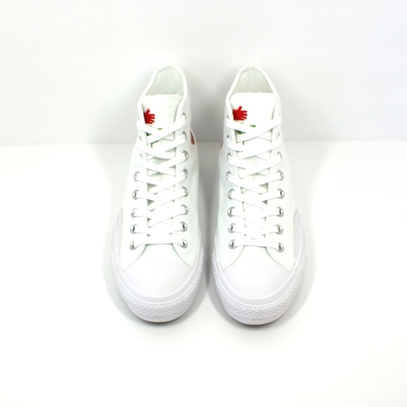 3f9ecf259dea Converse Shoes | New X Chocolate Ctas Pro Hi White Red | Poshmark